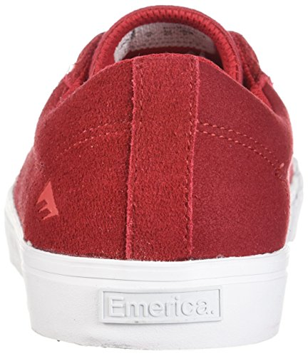 Scarpe Da Skate Con Indicatore Basso Emerica Rosso / Bianco