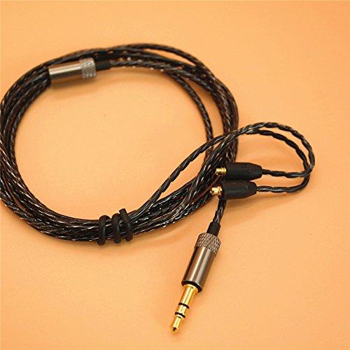 Amazon.com: YDYBZB Headphones Cable -MMCX Cable Detachable Earphones Replacement Cable for Shure SE215/315/535/846/UE900 (White): Cell Phones & Accessories
