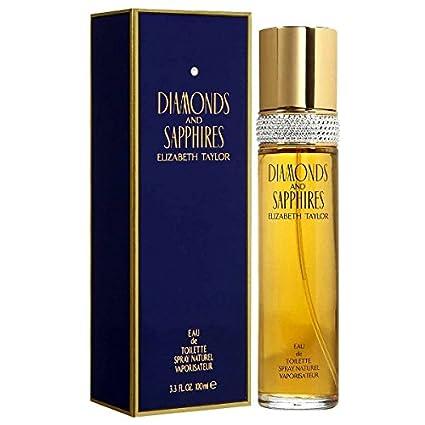 Diamonds and Sapphires by Elizabeth Taylor for Women, Eau De Toilette Spray, 3.3-Ounce 119778