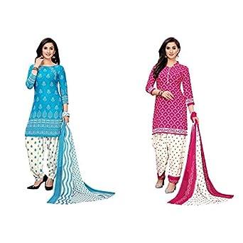 Oomph! Women's Unstitched Georgette Salwar Suit Dupatta Material - stanju
