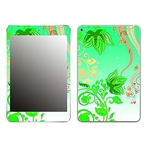 "Motivos Disagu Design Skin para Apple iPad mini 4: ""Green flowers"""