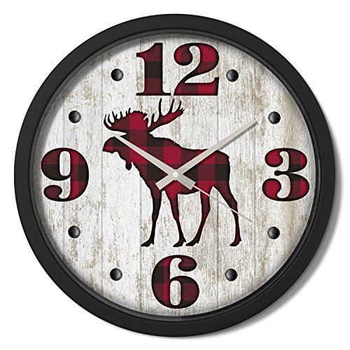 Animal Wall Clocks Kritters In The Mailbox Animal Wall