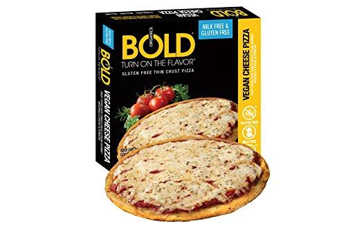 Bold Organics Gluten Free Vegan Cheese Pizza, 11.9 Ounce (Pack of 12)