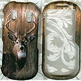Camo Deer Rubberized Samsung Intensity II 2 U460 verizon phone cover
