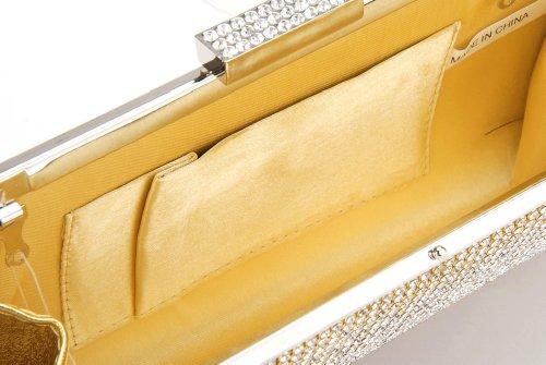 Damara - Cartera de mano para mujer dorado - dorado