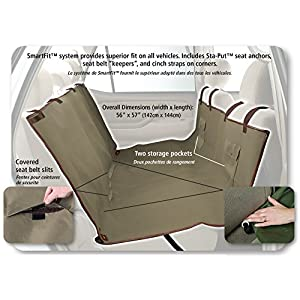 Solvit Waterproof Hammock Seat Cover, Extra Wide, Classic Green 71