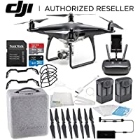 DJI Phantom 4 PRO Obsidian Edition Drone Quadcopter (Black) Essential Bundle