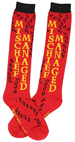 Harry Potter Mischief Managed Girls Knee High Socks from HARRY POTTER