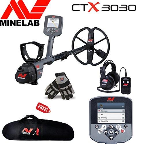 Minelab CTX 3030 Underwater Discoveries Special Bundle w/ Free Minelab Gloves, Carrybag, Wireless Module & Headphones