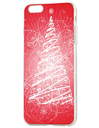 iPhone 6S Cases,iPhone 6 Case Hand Drawing Christmas Tree - High Crystal Quality Mascot