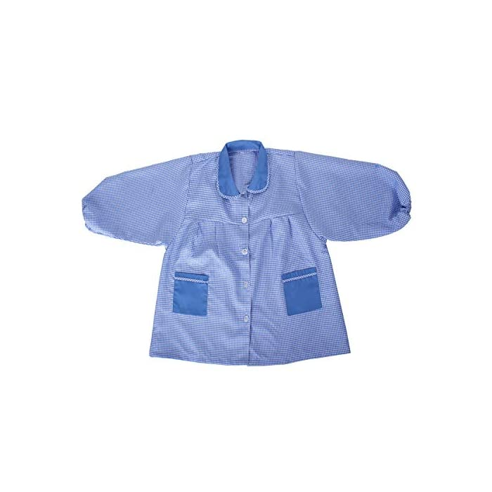 Baby 609 Bata Infantil uniforme guarderia 65% Poliéster, 35% Algodón Cierre: Botón