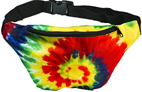 Tie Dye Hippie Costume Ideas (Funny Guy Mugs Tie Dye Fanny Pack)