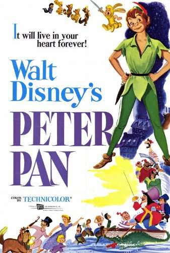 4be6c207f15a7 Peter Pan Poster Movie 27x40
