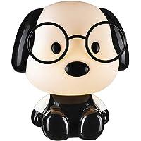 Wonderlamp W-A000112 Lámpara decorativa infantil Perro, Color Negro
