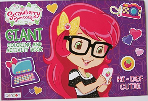 Strawberry Shortcake Hi-def Cutie Giant Coloring and Activity Book