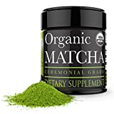 Ceremonial Matcha Green Tea Powder - 1oz - Highest Quality Japanese Matcha - Perfect for Tea Ceremonies - Made from 100% Organic Tea Leaves - Detox Tea
