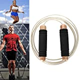Dainzusyful Speed Jump Rope Exercise Fitness