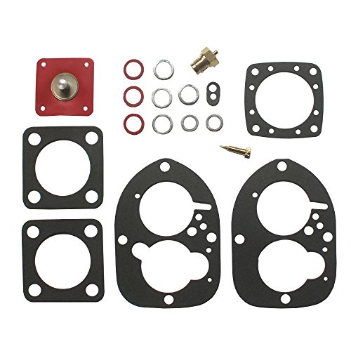 (KIPA Carburetor Rebuild kit For Volvo Penta 856471 856472 AQ115 AQ125 AQ130 AQ130 AQ131 AQ131 AQ145 AQ151A AQ171 BB115 BB145A Solex 44PA1 834527 841292-6)