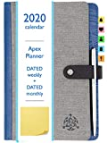 STYLIO APEX Planner 2020. Fully Dated