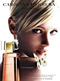 **PRINT AD** With Yfke Sturm For 2003 Caroline Herrera Carolina Fragrance