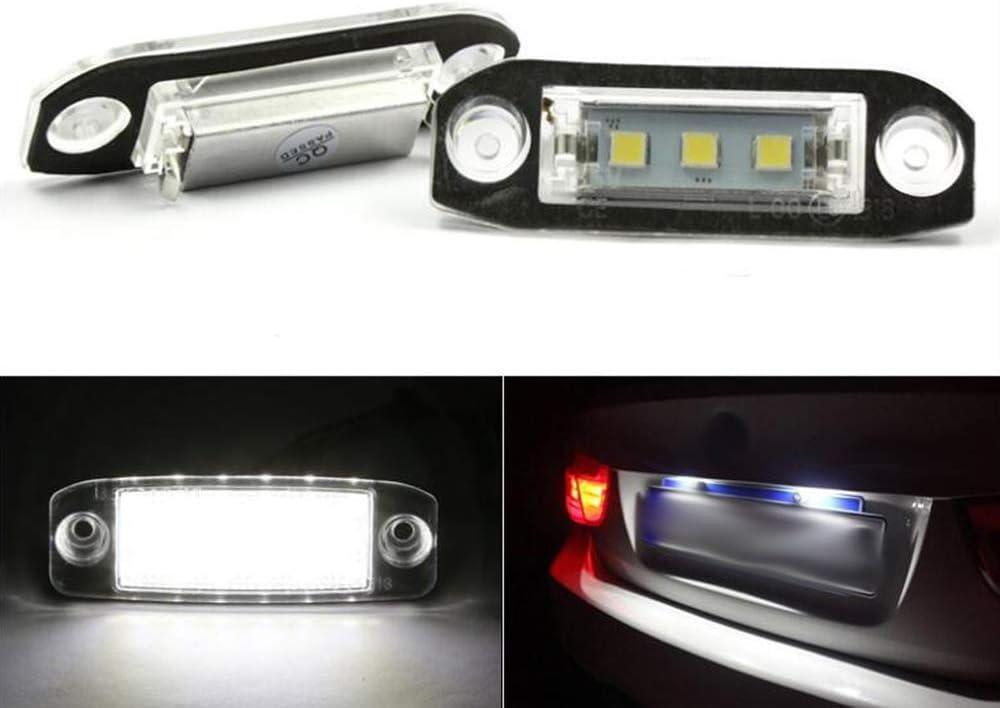 Toyota Yaris MK2 White LED /'Trade/' Wide Angle Side Light Beam Bulbs Pair Upgrade