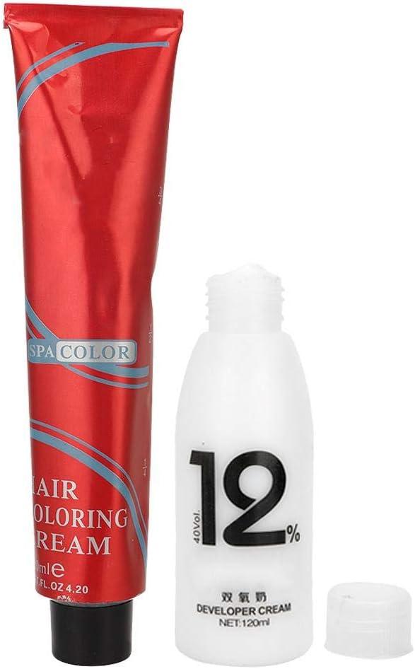 Crema de tinte para el cabello profesional de 120 ml + 100 ml ...