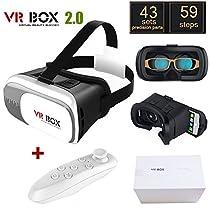 Original Google Cardboard VR BOX II 2.0 VR Virtual Reality 3D Glasses For 4