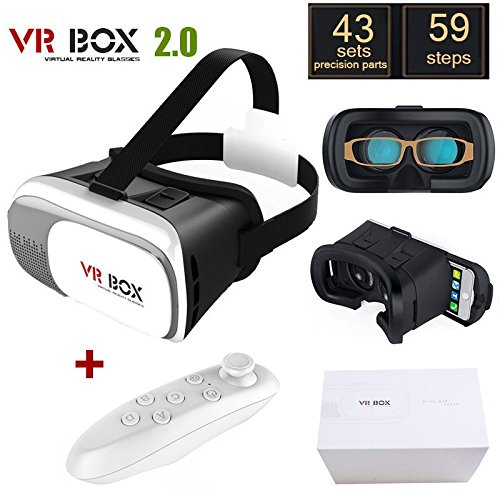 375522174bca Image Unavailable. Image not available for. Color  Original Google  Cardboard VR BOX II 2.0 VR Virtual Reality 3D ...