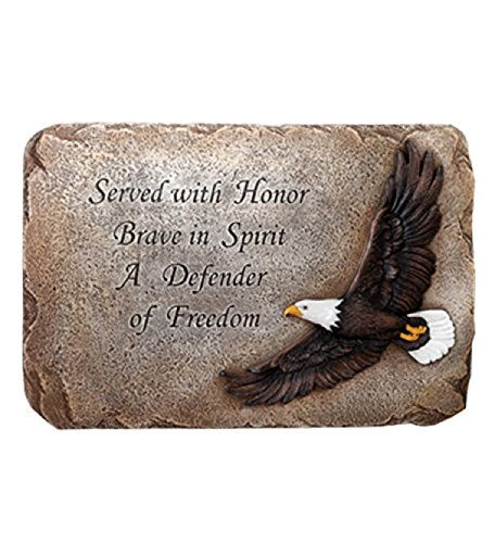 Napco Patriotic Soaring Eagle Plaque ()