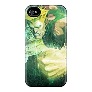High Impact Dirt/shock Proof Case Cover For Iphone 5/5s (guile In Street Fighter)