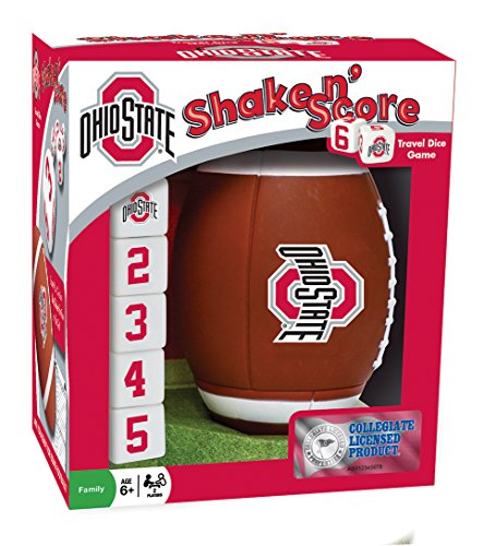 MasterPieces NCAA Ohio State Buckeyes Shake 'n Score Dice Game