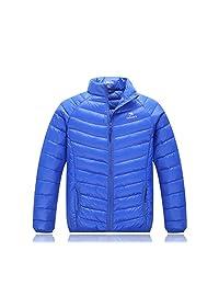 Lemonkids Children Winter Chic Pure Lightweight Anoraks Jacket Down Coat Green