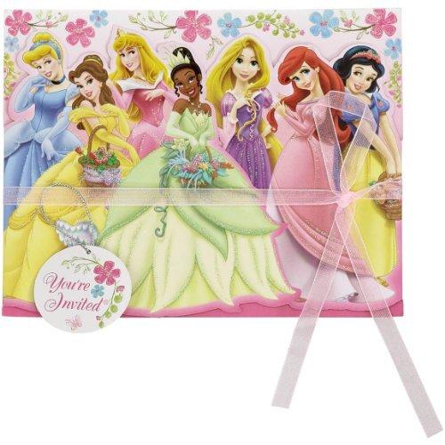 8-Count Disney Princess Invite]()