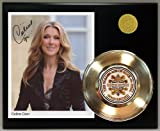 #2: Celine Dion Gold Record Signature Series LTD Edition Display
