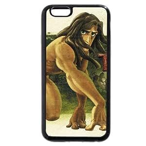 "New Zeng Customized Black Soft Rubber(TPU) Disney Cartoon Tarzan iPhone Plus 5.5 Case, Only fit iPhone 6+ 5.5"""