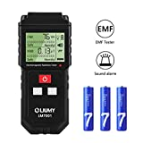 Electromagnetic Field Radiation Detector/EMF Meter, LIUMY Handheld Mini EMF Detector Digital LCD Radiation Meter/Sound and Light Alarm (Batteries Included)