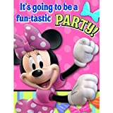 Disney Minnie Mouse Bow-tique Invitations Party Accessory