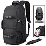 BTOOP Travel Laptop Backpack for up to 17.3 Inch Laptop Business Backpack with Shoes Compartment Outdoor Sport Gym Backpack (Strong Handle Black)