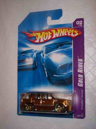 - Gold Rides Series #2 2007 Cadillac Escalade #2007-54 Collectible Collector Car Mattel Hot Wheels