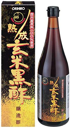 (ORIHIRO JUKUSEI Brown Rice Black Vinegar (JAS))