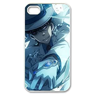 Custom Detective Conan Phone Case Cover Protection for iphone 4 4s TPU