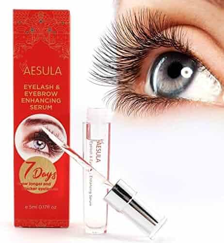 845aee3b397 [Upgraded] Aesula Eyelash Growth Serum, Enhancer Great For Eyelash Growing,  Thickening and