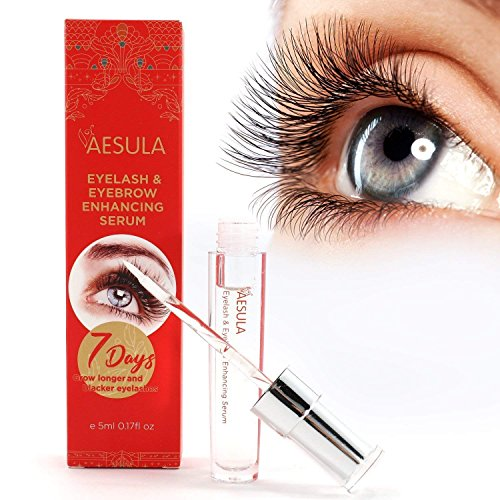 [Upgraded] Aesula Eyelash Growth Serum, Enhancer Great For Eyelash Growing, Thickening and Strengthening of Eyelashes, Best Eyelash Growth Serum for 2018 by PreDeux