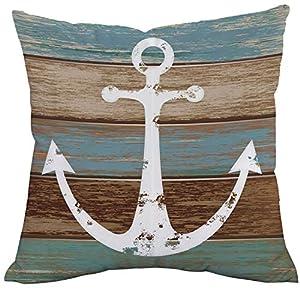 51eb17BUXRL._SS300_ 100+ Nautical Pillows & Nautical Pillow Covers