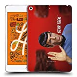 Official Star Trek Vulcan Salute Spock Soft Gel Case Compatible for iPad Mini (2019)