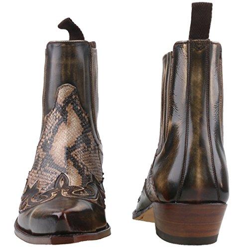 Boots Sendra Stivali Boots Uomo western Uomo western Sendra Marrone Stivali Eq6ACt