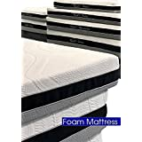 Cloud 9 Closed Cell Foam Mattress: Plush Queen 11in, True Adaptive Support, Zero Pressure Points, Sleeps Cool, Tencel Fabric, USA Made, Certi-PUR & Oeko-Tex 100 Certified, 10-Yr Wty, 100 day trial