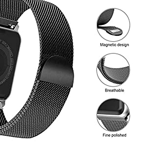 Cocos Cocos Replacement Parts for Apple Watch Series 4/3/2/1 - Black