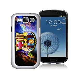 Victor Sports Football FC Barcelona Samsung Galaxy S3 Case for Sports Fans-Chritmas Gift, Samsung Galaxy S3 Hard Cover