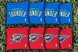 NBA Replacement All Weather Cornhole Bag Set NBA Team: Oklahoma City Thunder